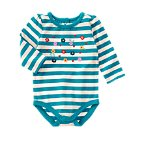 Wildflowers Striped Bodysuit