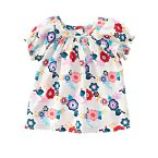 Wildflowers & Birdies Smock Top
