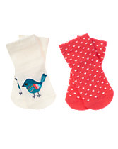Birdy & Heart Socks Two-Pack
