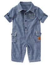 Chambray One-Piece