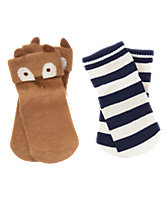 Fox & Striped Socks Two-Pack