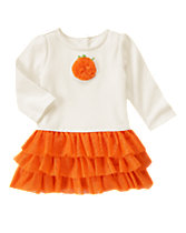 Ruffle Pumpkin Dress