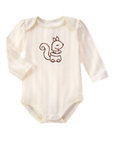 Love Me Squirrel Bodysuit