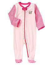 Striped Squirrel One-Piece