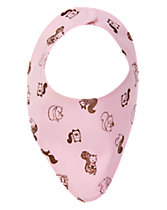 Squirrel Reversible Bib