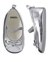 Metallic Crib Shoes