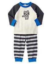 Raccoon Two-Piece Set