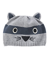 Raccoon Sweater Hat