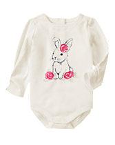 Rosy Bunny Bodysuit