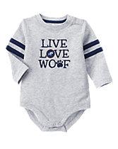 Live Love Woof Bodysuit