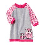 Owl Sweater Dress