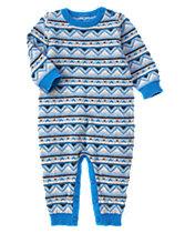 Fair Isle Sweater One-Piece
