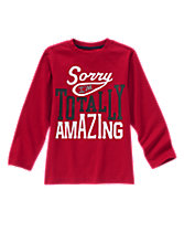 Totally Amazing Long Sleeve Tee