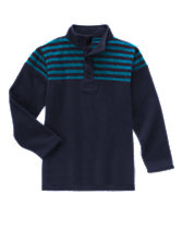 Pieced Stripe Henley