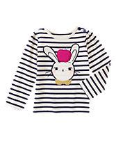 Bunny Apple Long Sleeve Tee