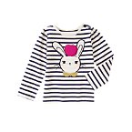 Bunny Apple Long Sleeve Tee