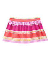 Glitter Striped Skirt