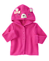 Bear Hooded Sweater