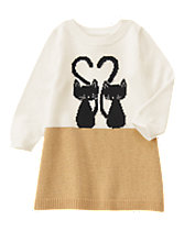 Kitten Love Sweater Dress