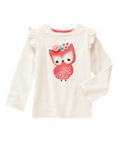Sparkle Owl Top