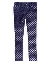 Polka Dot Ponte Pants