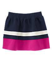Colorblock Ponte Skirt