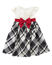 Plaid Bow Dress