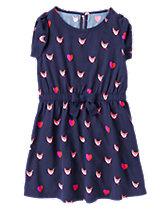 Fox Print Dress
