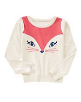 Friendly Fox Sweater