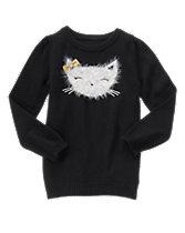 Kitten Face Sweater