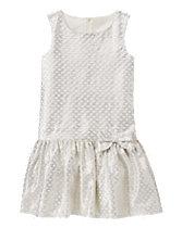 Sparkle Jacquard Dress