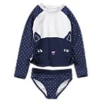 Kitten Rash Guard Set
