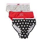Kitty Dot Underwear Three-Pack