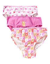 Pink Bear  Underwear Three-Pack