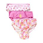 Pink Bear  Underwear Three-Pack