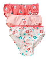 Owl  Underwear Three-Pack