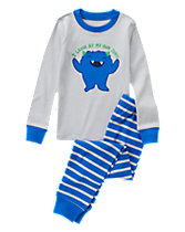 Funny Monster Two-Piece Gymmies®