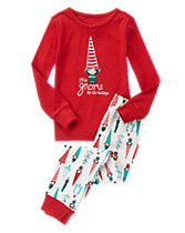 Gnome For The Holidays Two-Piece Gymmies�