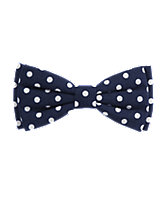 Polka Dot Bow Clip