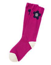 Flower Knee Socks