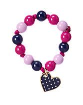 Polka Dot Heart Bracelet