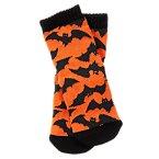 Bat Print Socks