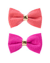Bow Clips Two-Pack
