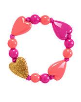 Glitter Heart Bracelet