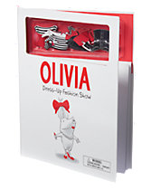 Olivia Dress-Up Magnets Book
