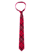 Dad Plaid Tie