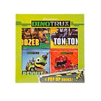 Dinotrux Set of 4 Pop-Up Books