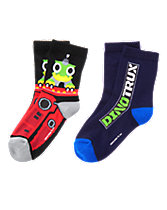 Dinotrux Socks Two-Pack