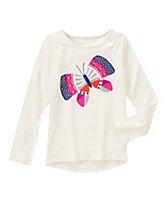Glitter Butterfly Tee