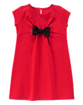 Olivia Bow Ponte Dress
